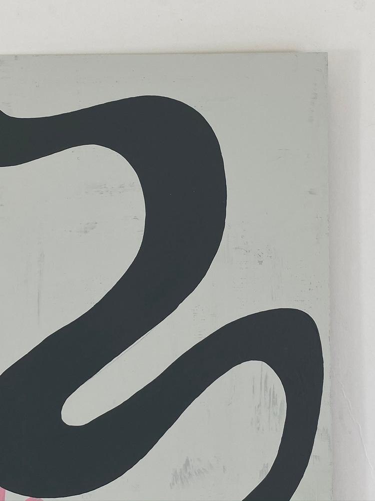 4 4 20 thomas matthew pierson amoeba fractal #4 18x24 acrylic on hardboard 2020 detail 2