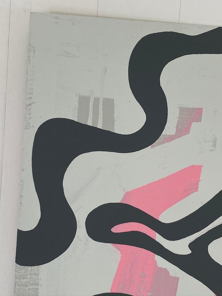 4 4 20 thomas matthew pierson amoeba fractal #4 18x24 acrylic on hardboard 2020 detail 3