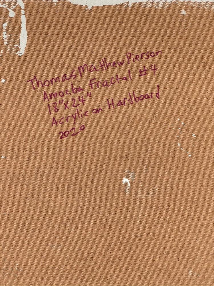 4 4 20 thomas matthew pierson amoeba fractal #4 18x24 acrylic on hardboard 2020 detail 8