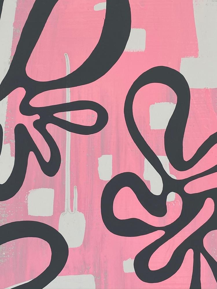 4 4 20 thomas matthew pierson amoeba fractal #6 18x24 acrylic on hardboard 2020 cropped