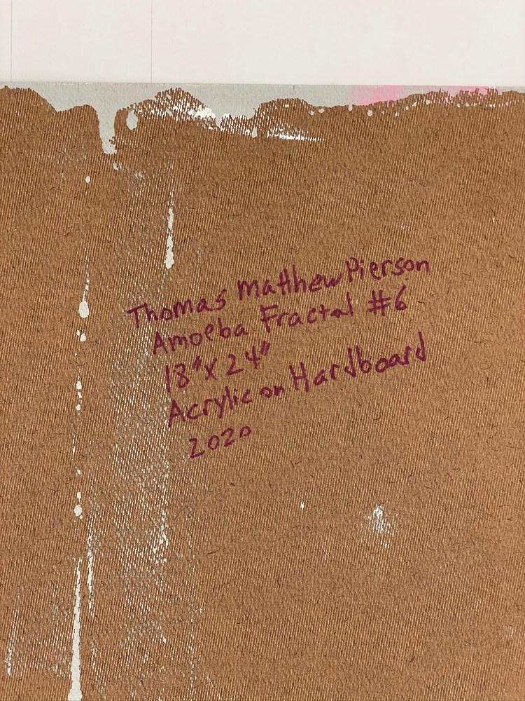 4 4 20 thomas matthew pierson amoeba fractal #6 18x24 acrylic on hardboard 2020 detail 7