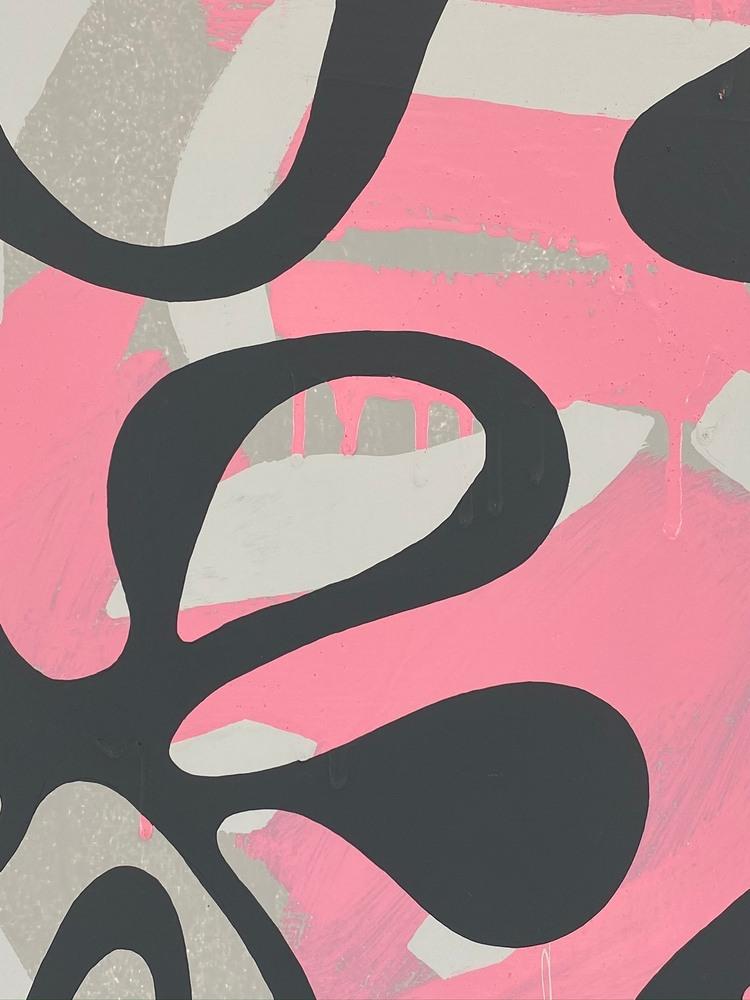 4 4 20 thomas matthew pierson amoeba fractal #8 18x24 acrylic on hardboard 2020 detail 1