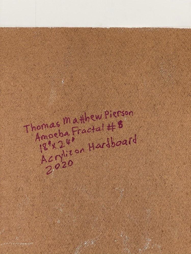 4 4 20 thomas matthew pierson amoeba fractal #8 18x24 acrylic on hardboard 2020 detail 9