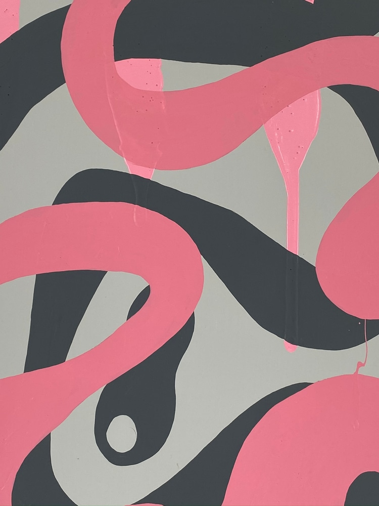 4 4 20 thomas matthew pierson amoeba fractal #11 18x24 acrylic on hardboard 2020 detail 1