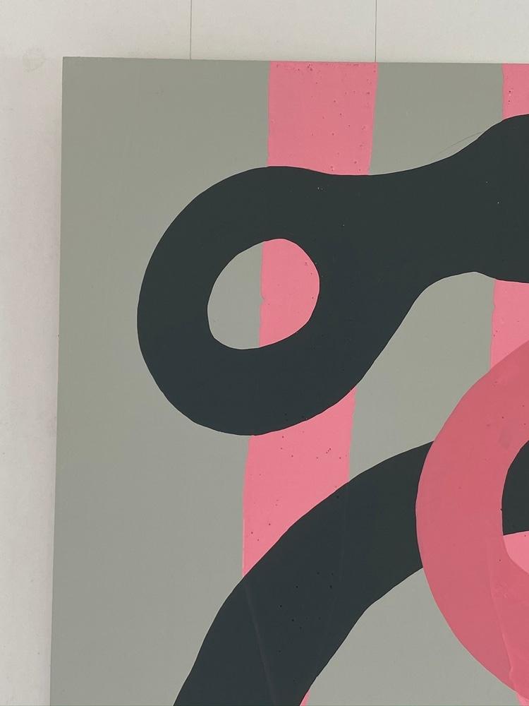 4 4 20 thomas matthew pierson amoeba fractal #11 18x24 acrylic on hardboard 2020 detail 2