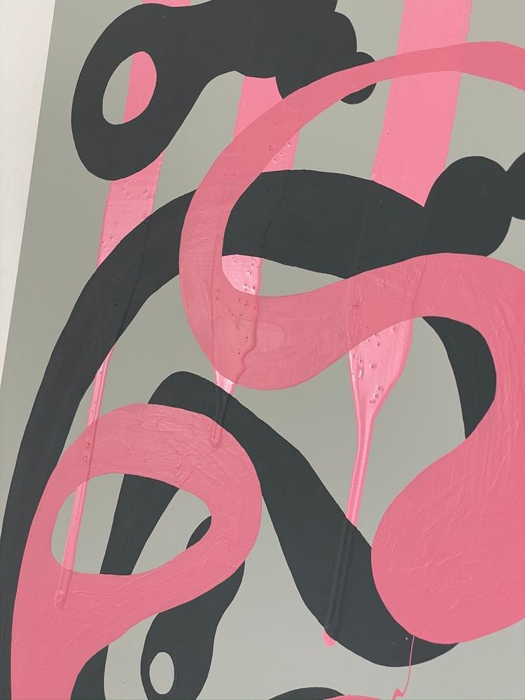 4 4 20 thomas matthew pierson amoeba fractal #11 18x24 acrylic on hardboard 2020 detail 6