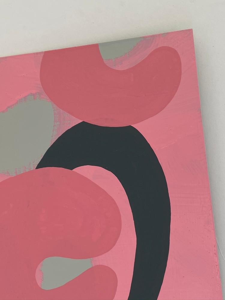 4 4 20 thomas matthew pierson amoeba fractal #12 18x24 acrylic on hardboard 2020 detail 3