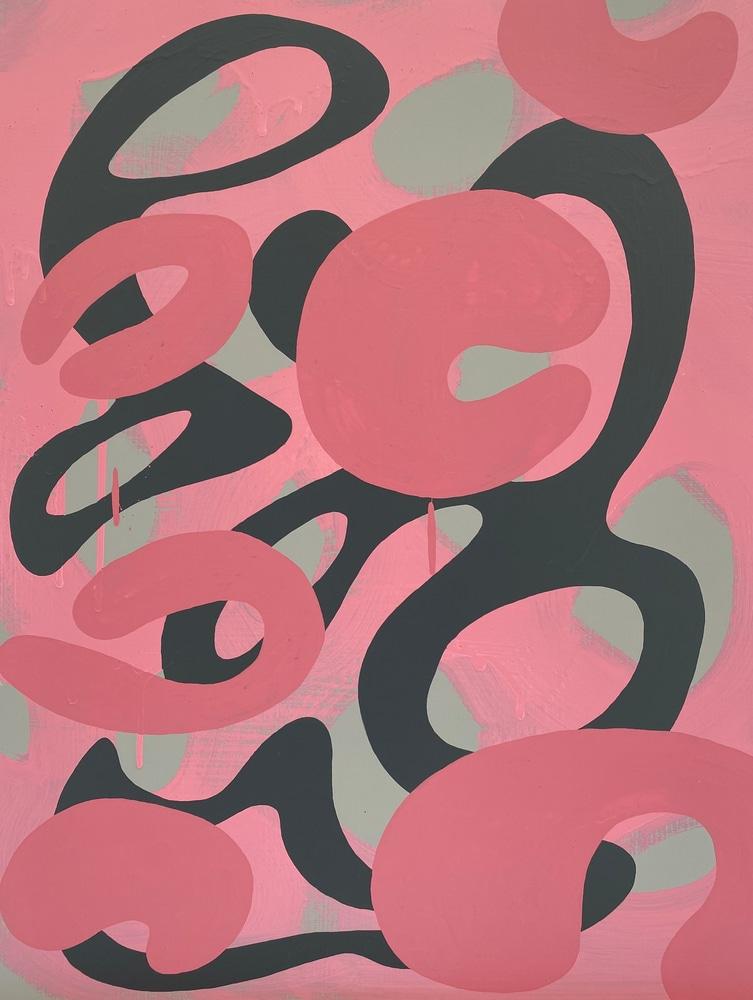 4 4 20 thomas matthew pierson amoeba fractal #12 18x24 acrylic on hardboard 2020 cropped