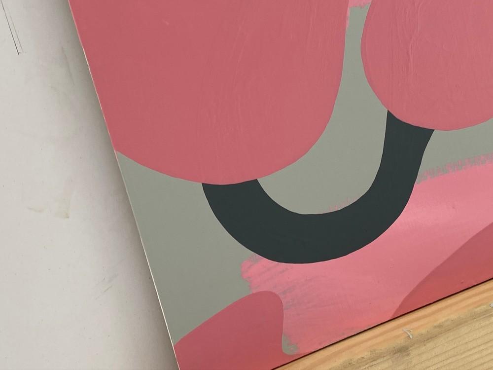 4 4 20 thomas matthew pierson amoeba fractal #14 18x24 acrylic on hardboard 2020 detail 4