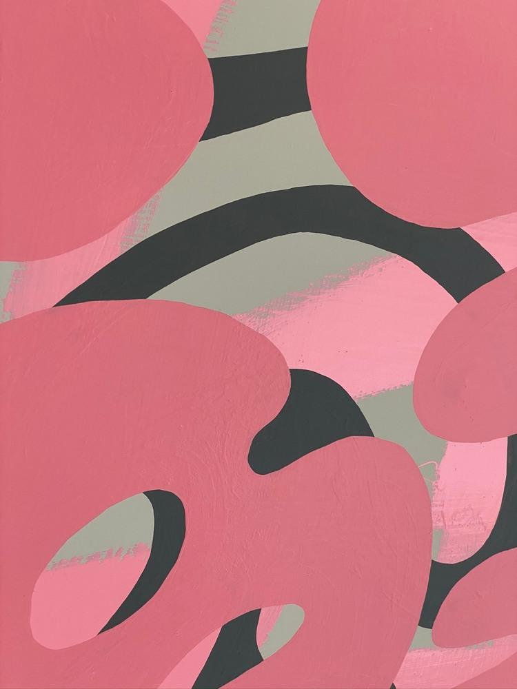 4 4 20 thomas matthew pierson amoeba fractal #14 18x24 acrylic on hardboard 2020 detail 7