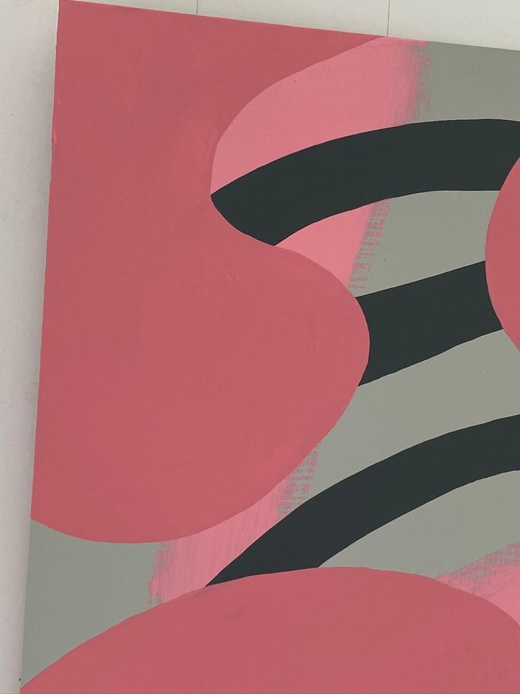 4 4 20 thomas matthew pierson amoeba fractal #14 18x24 acrylic on hardboard 2020 detail 3
