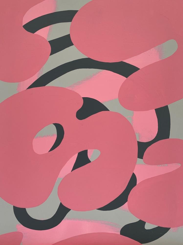 4 4 20 thomas matthew pierson amoeba fractal #14 18x24 acrylic on hardboard 2020 cropped