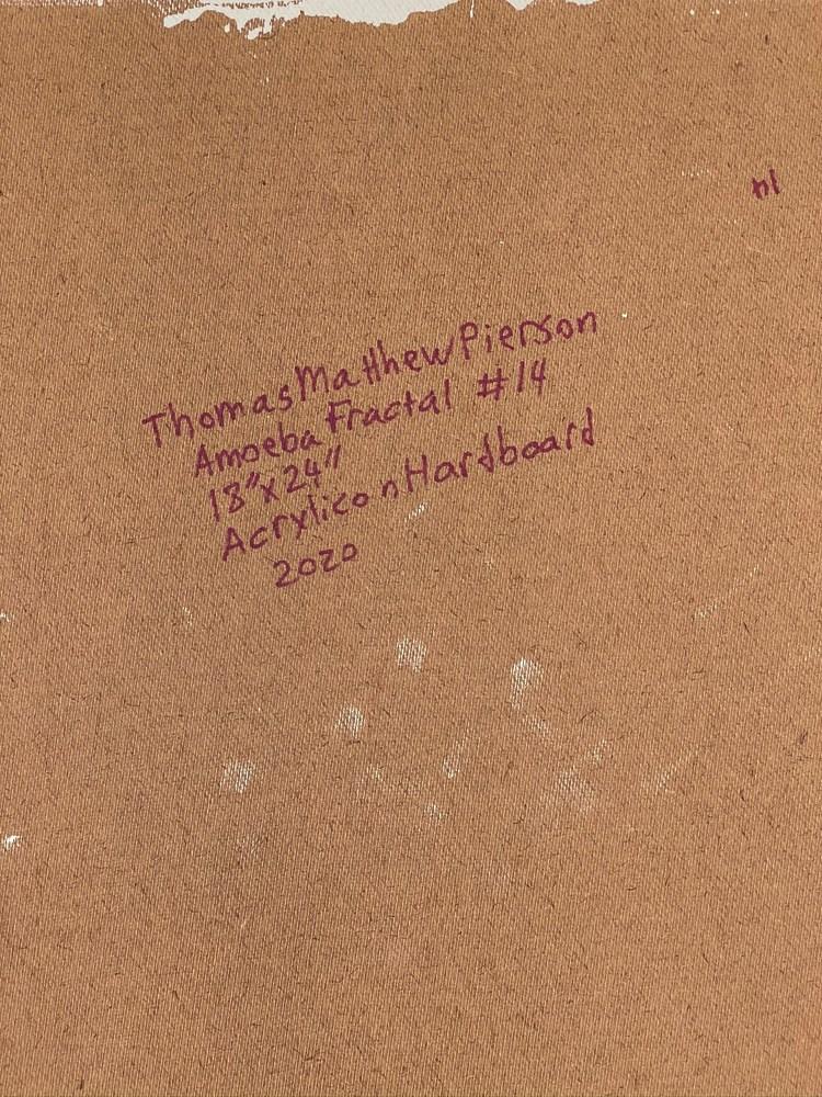 4 4 20 thomas matthew pierson amoeba fractal #14 18x24 acrylic on hardboard 2020 detail 9