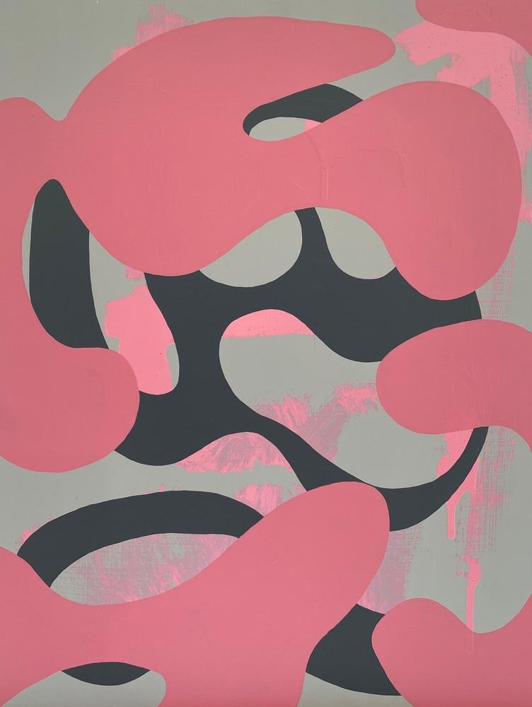 4 4 20 thomas matthew pierson amoeba fractal #15 18x24 acrylic on hardboard 2020 cropped