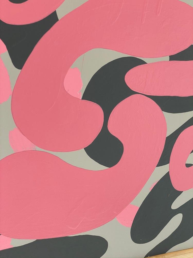 4 4 20 thomas matthew pierson amoeba fractal #17 18x24 acrylic on hardboard 2020 detail 4