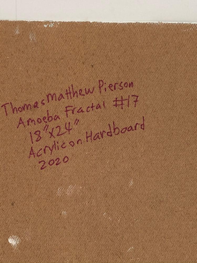 4 4 20 thomas matthew pierson amoeba fractal #17 18x24 acrylic on hardboard 2020 detail 7