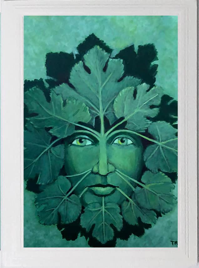 Green Man card asf