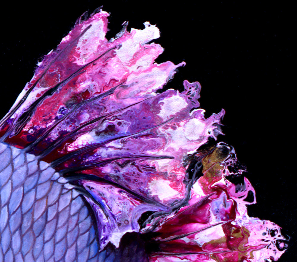Cherry Blossom Betta detail 1