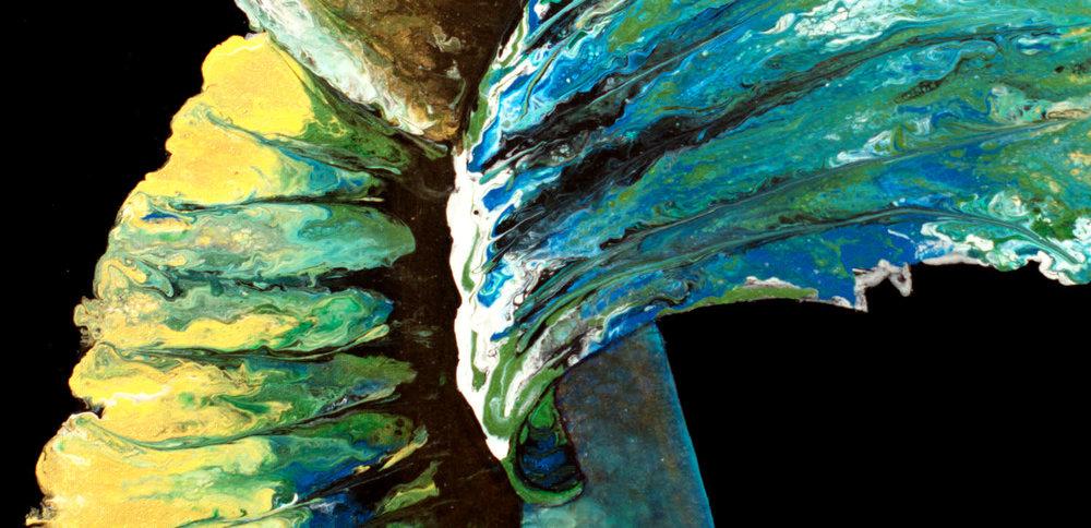 Emerald Betta Detail