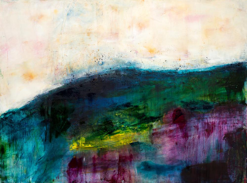 ;Beannacht:Blessing Eadaoin Glynn 2019 oil cold wax pigment on canvas 76x100cm HiRes