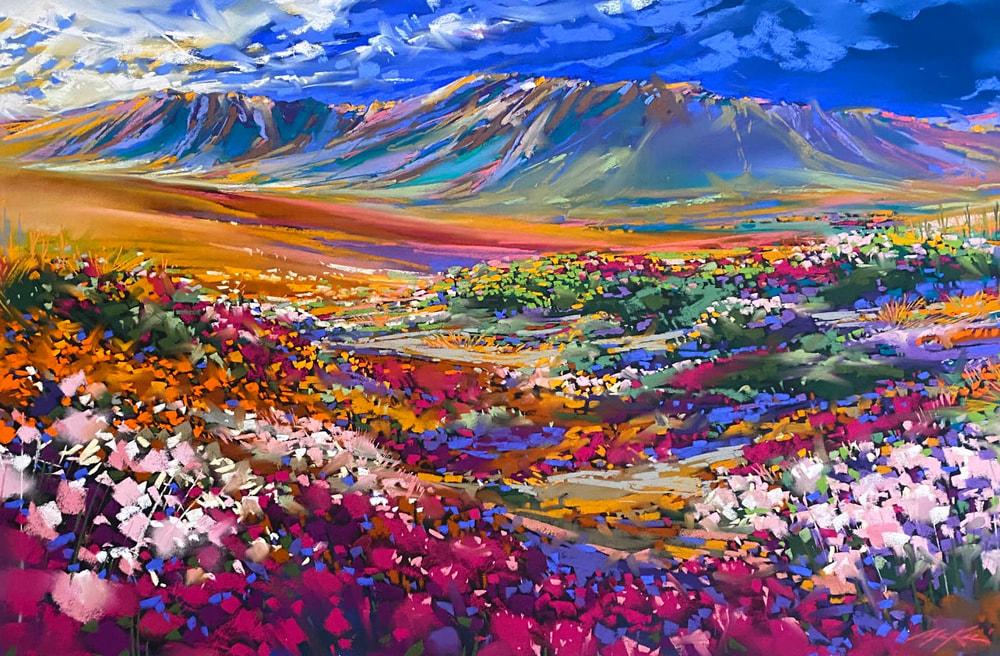 Spring Desert Bloom original
