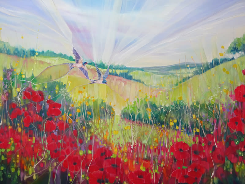 South Downs Summer by Gill Bustamante d1 S