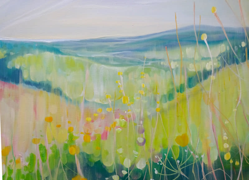 South Downs Summer by Gill Bustamante d4 S