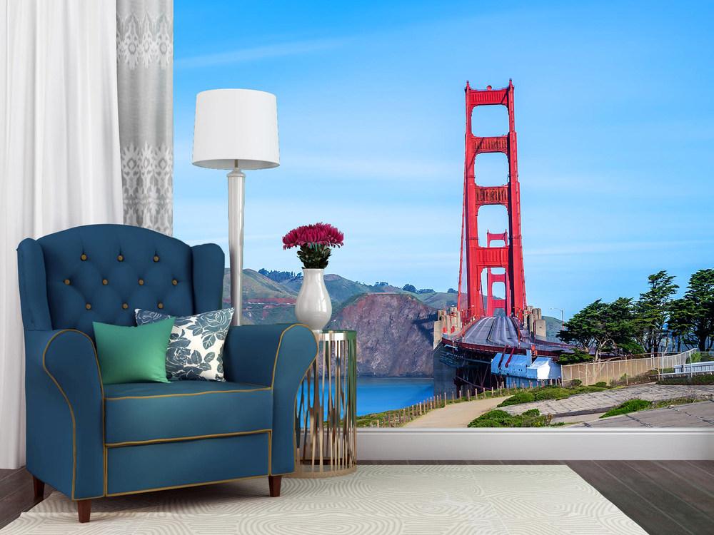 Empty Golden Gate Bridge