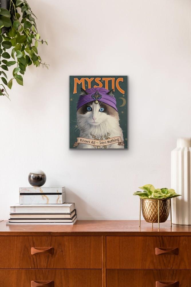 Paul Bond   Evo Art Maui Mystic Mock Ups Magical Realism Animals Cat Front Street Gallery Lahaina Hawaii 2
