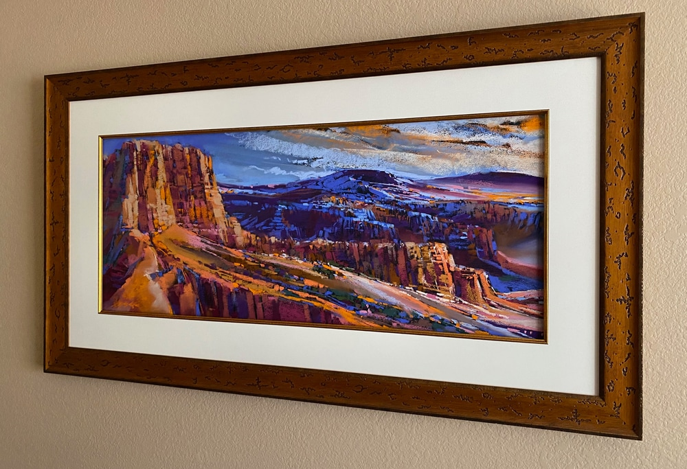 Bryce Canyon Shadows frame