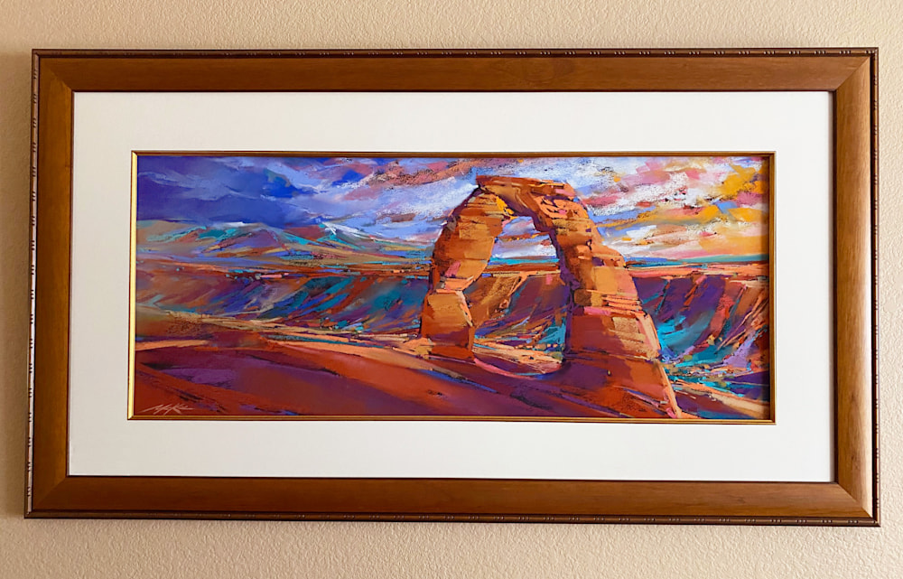 Delicate Arch frame