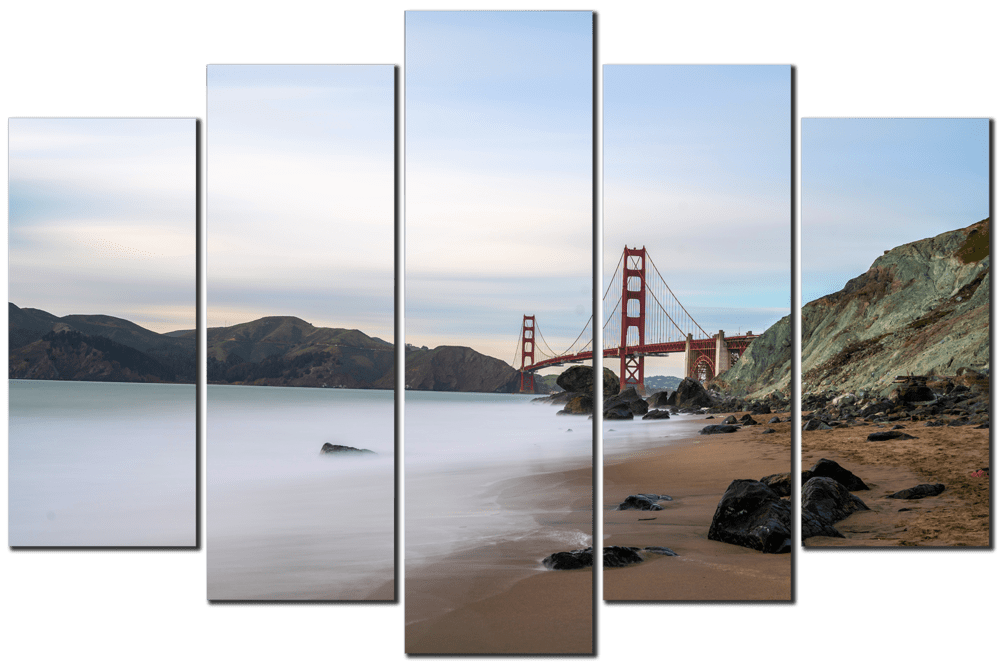 Golden Gate and Marshall's Beach