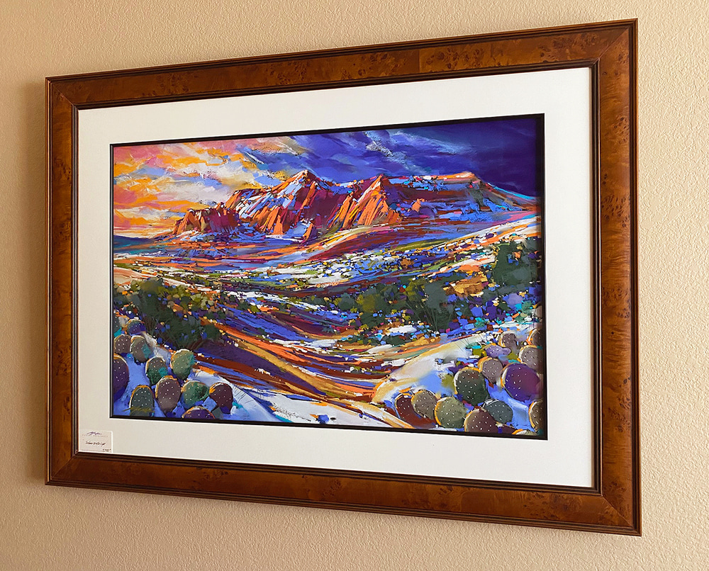 Sedona Winter Blue frame