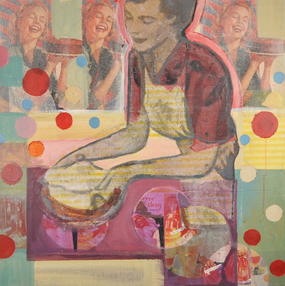 Time for Cake, 36x36