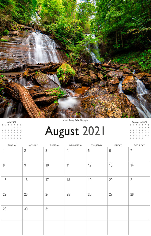 2021 Wonderful Waterfalls August