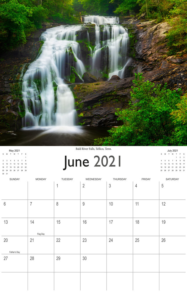 2021 Wonderful Waterfalls June