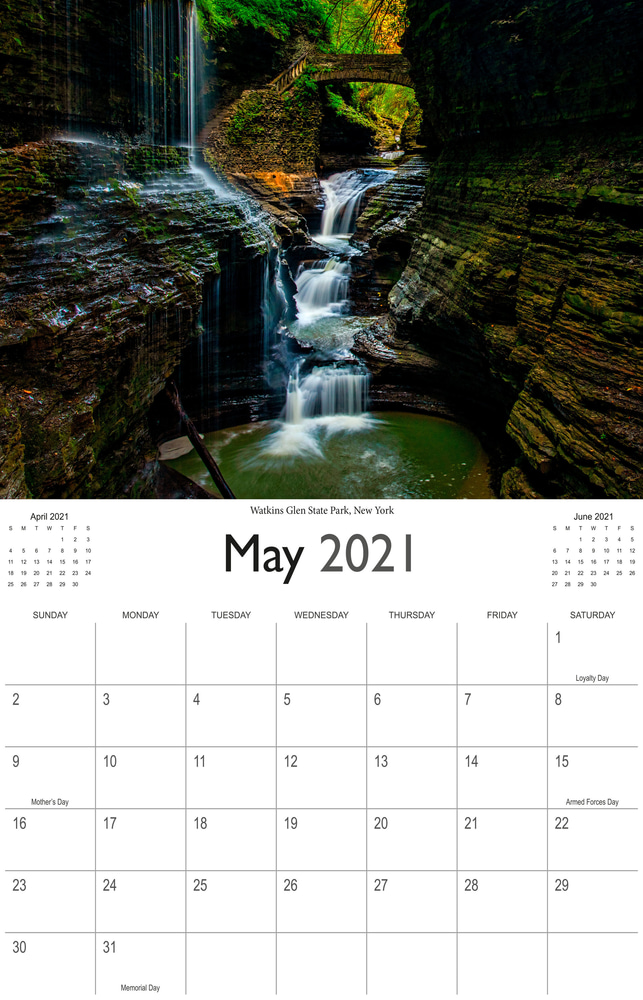 2021 Wonderful Waterfalls May