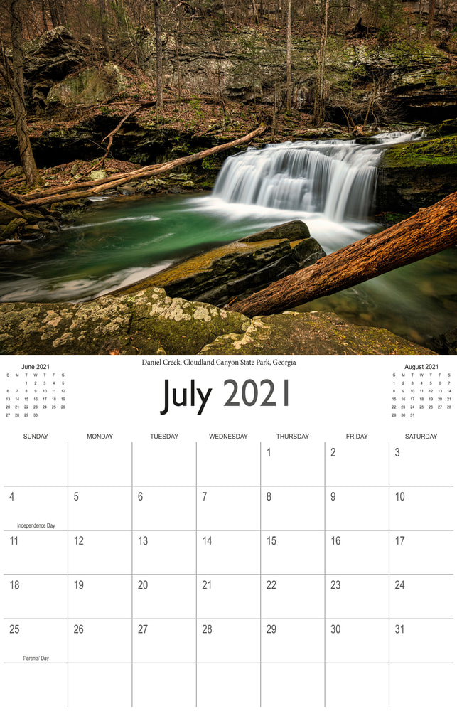 2021 Wonderful Waterfalls July