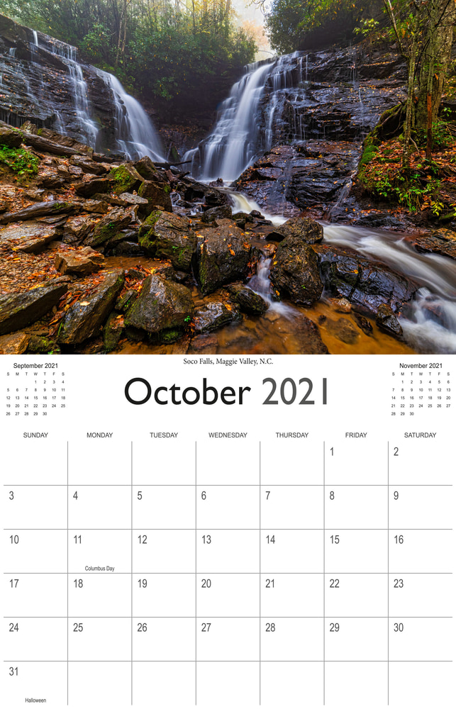 2021 Wonderful Waterfalls October