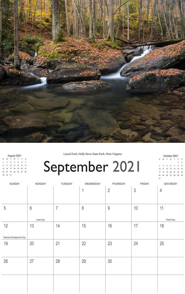 2021 Wonderful Waterfalls September