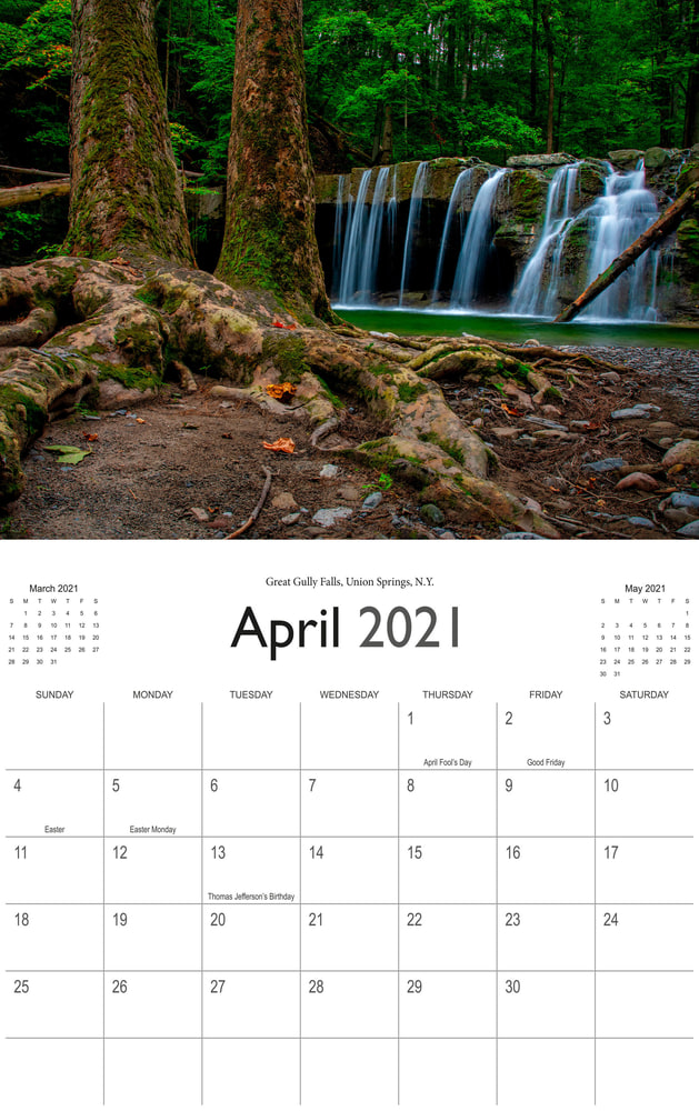 2021 Wonderful Waterfalls April