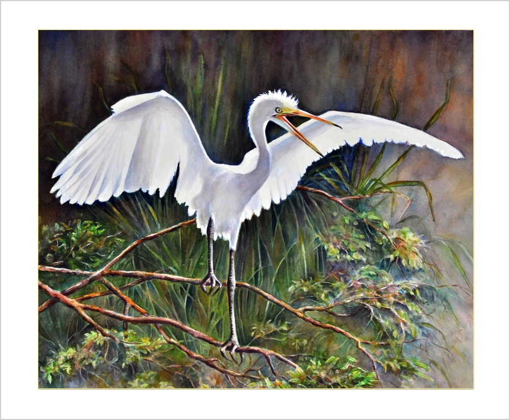 out on a limb 34x28 matted