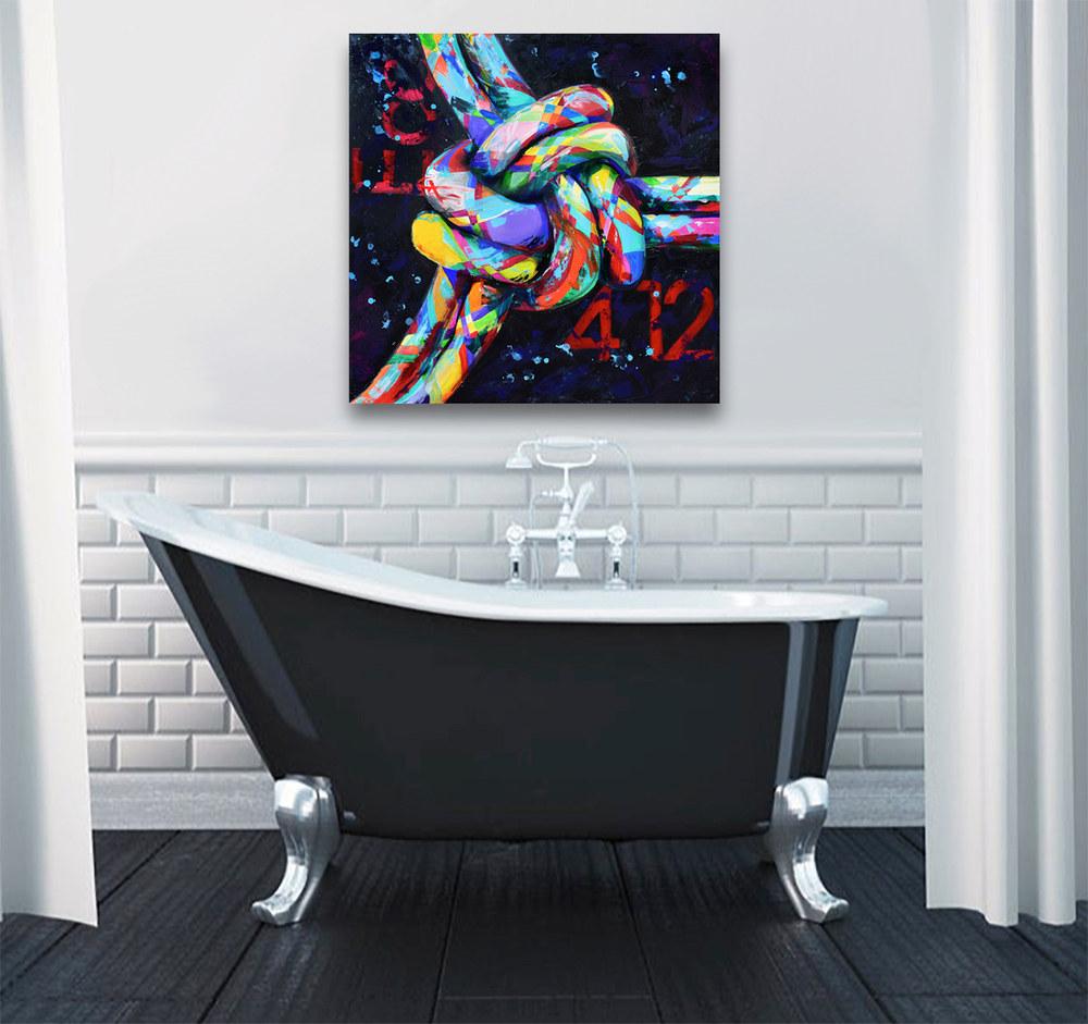 3 fold coard bath