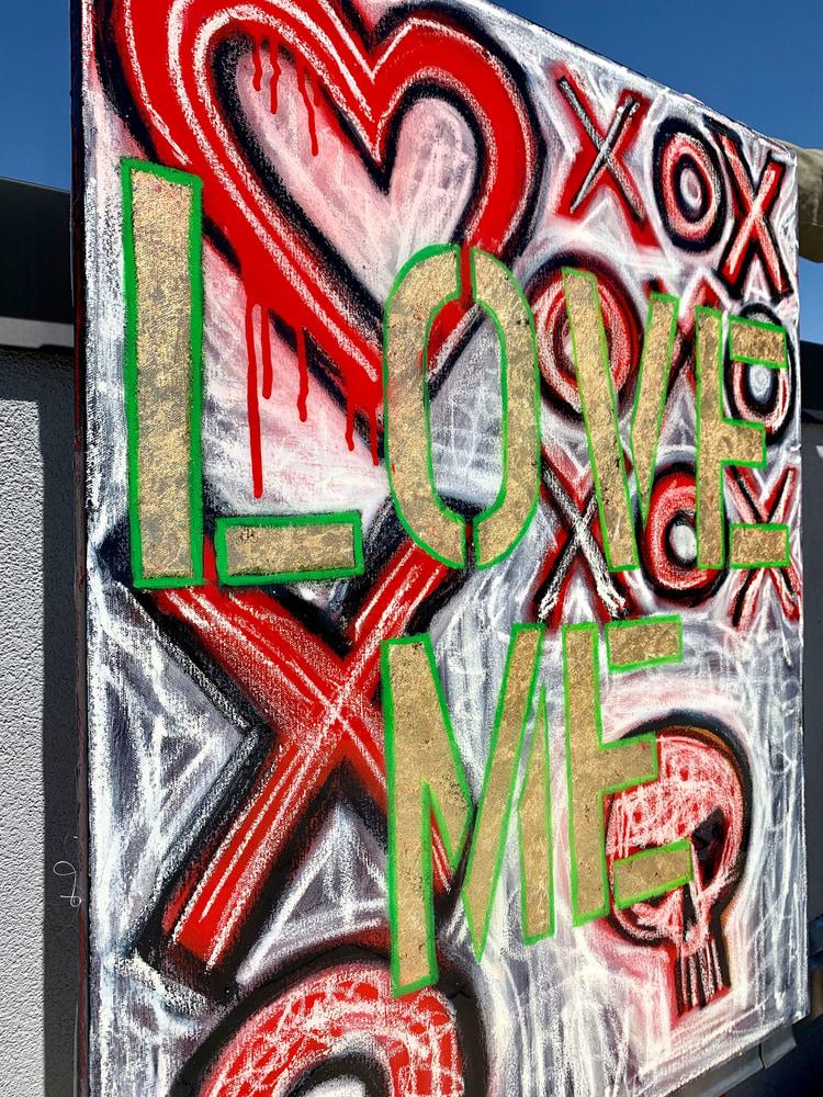 Love Me X O Side View Paul Zepeda