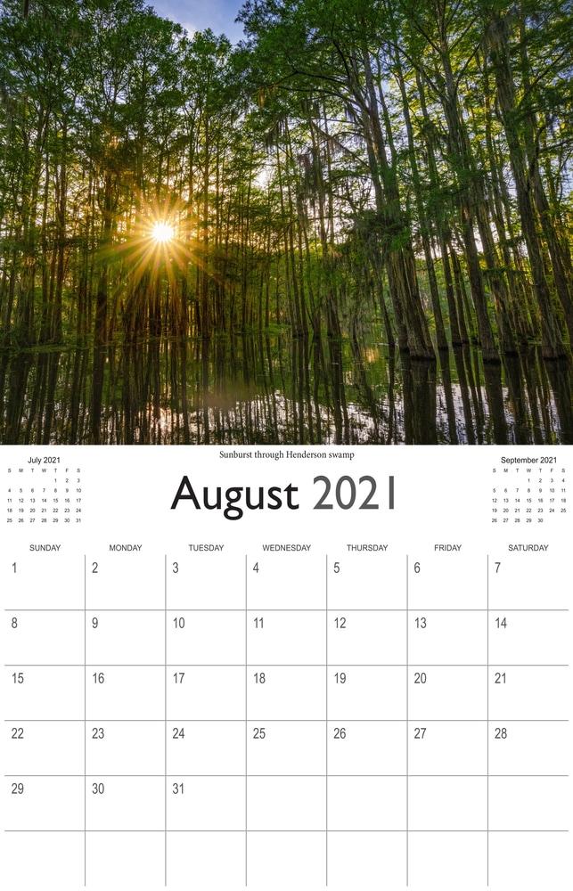 2021 Bayou Paradise August