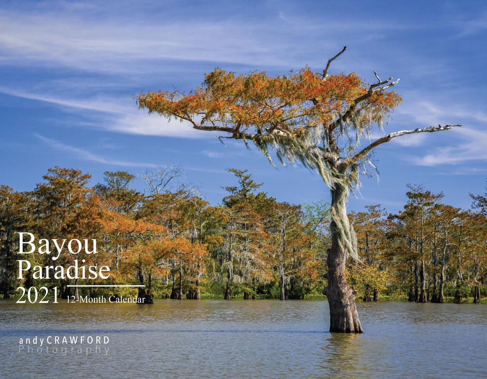 2021 Bayou Paradise Calendar cover