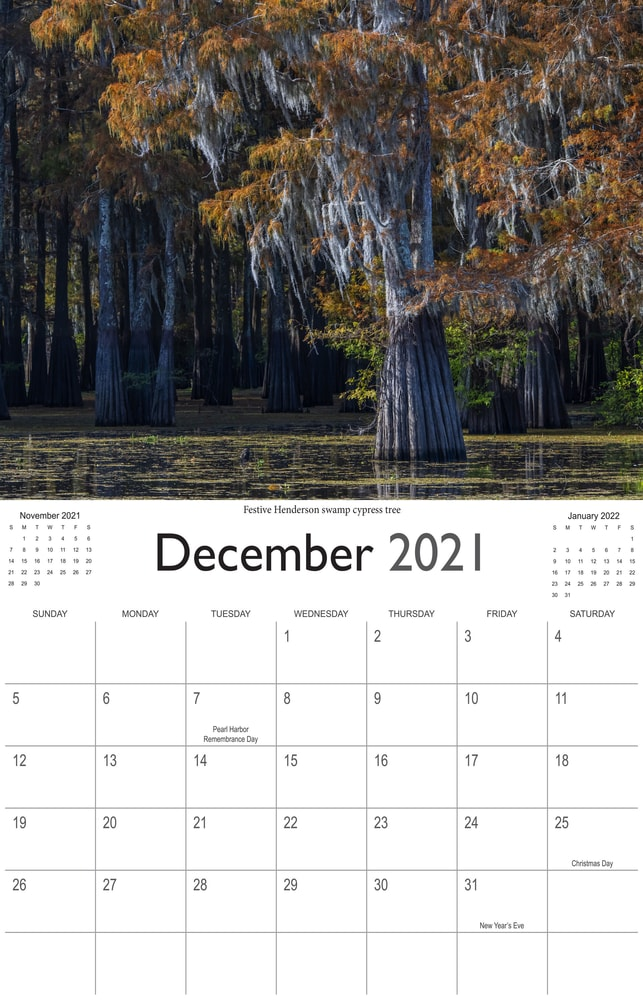 2021 Bayou Paradise December