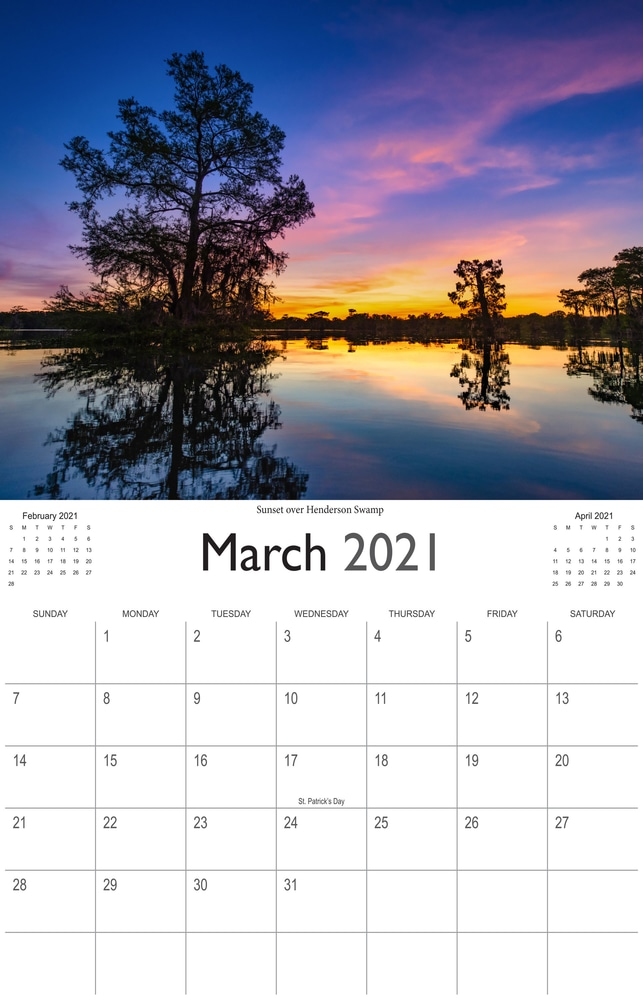 2021 Bayou Paradise March