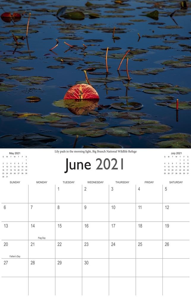 2021 Bayou Paradise June