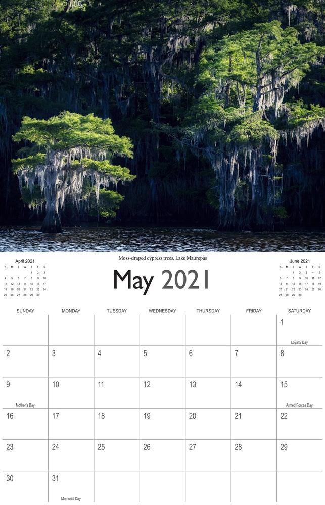 2021 Bayou Paradise May